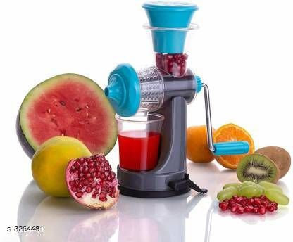 Home  Fruit & Vegetable Hand Juicer and Pizza Cutter - Green