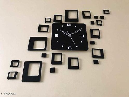 Trendy Acrylic Clock