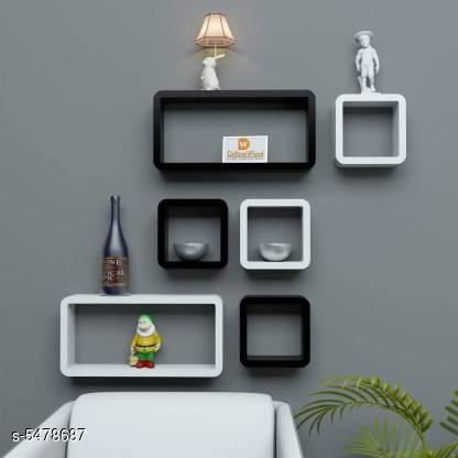 Elite Beautiful Decorative Wall Shelves Combo