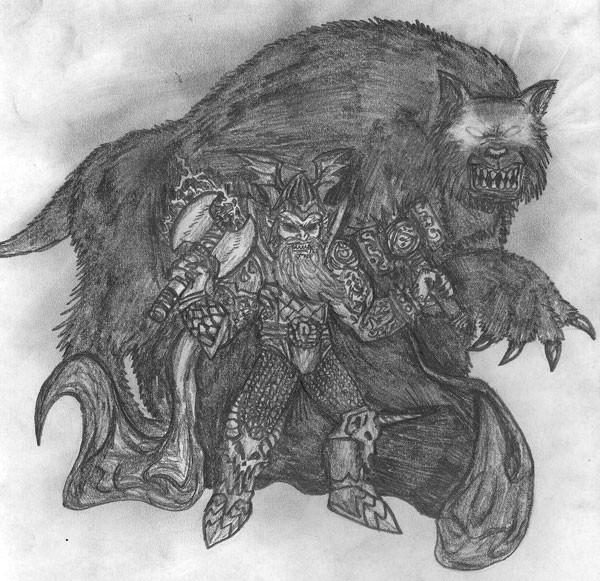 Fenar Strakeln y la bestia Lognar