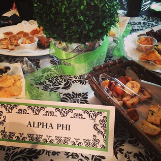 Indianapolis Alumnae Panhellenic's Tasters Luncheon.