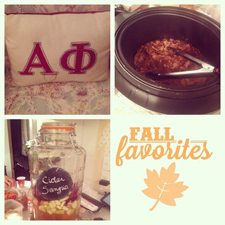 Fall fire with our sisters.