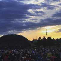 The sun is setting and we are settling in for a great night of some music. Be sure to text or call if you can't find us.jpg