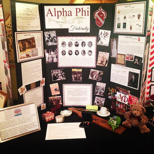 Indianapolis Alpha Phi's board for the IAP Centennial Celebration.