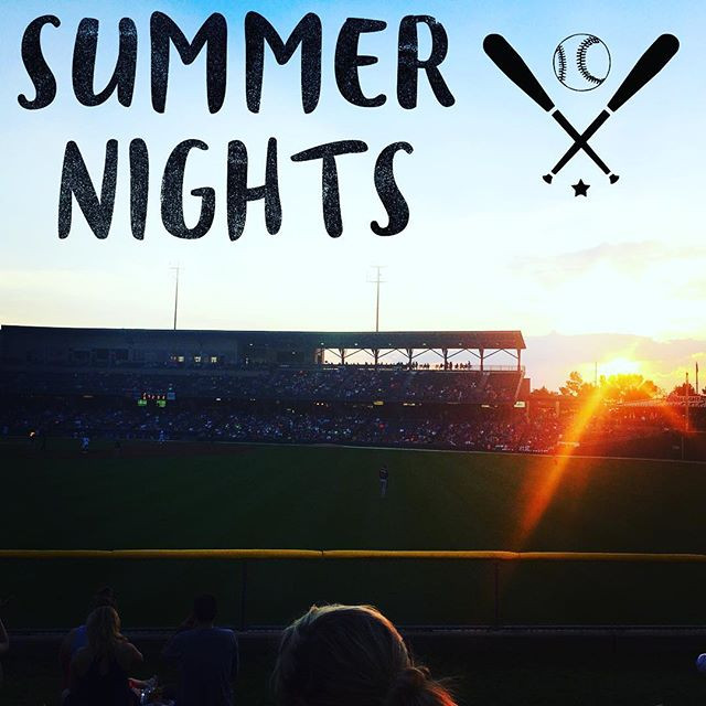 Summer nights watching Indianapolis Indians play.