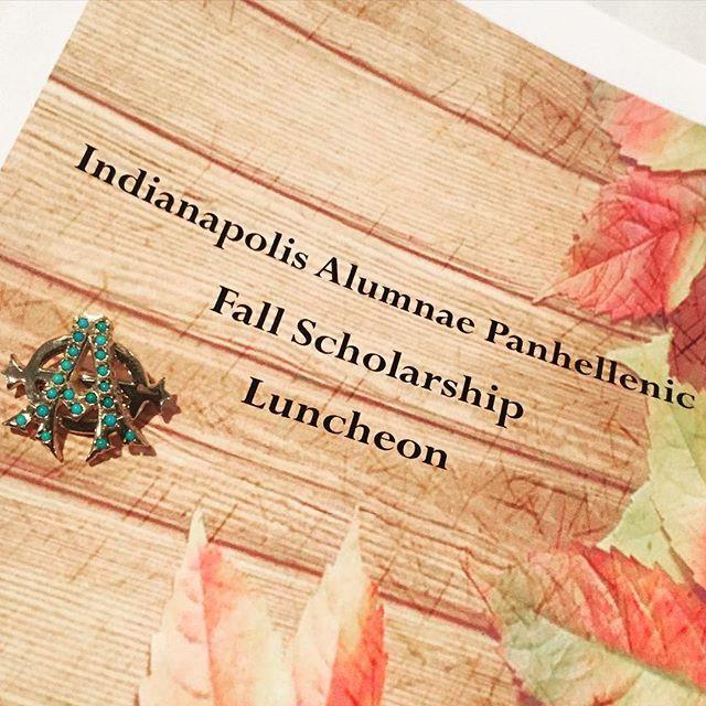 IAP Fall Scholarship Luncheon