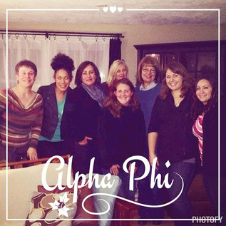 Fall Fire with some of our sisters.