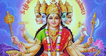 Gayatri-Mata-With-Gayatri-Mantra-Wallpap