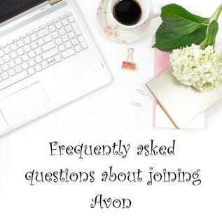 FAQ about joining Avon