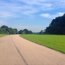 Who can spot #Windsor #castle _! #cycling #carbon #specialized #summer #bike #England #clearsky #rid