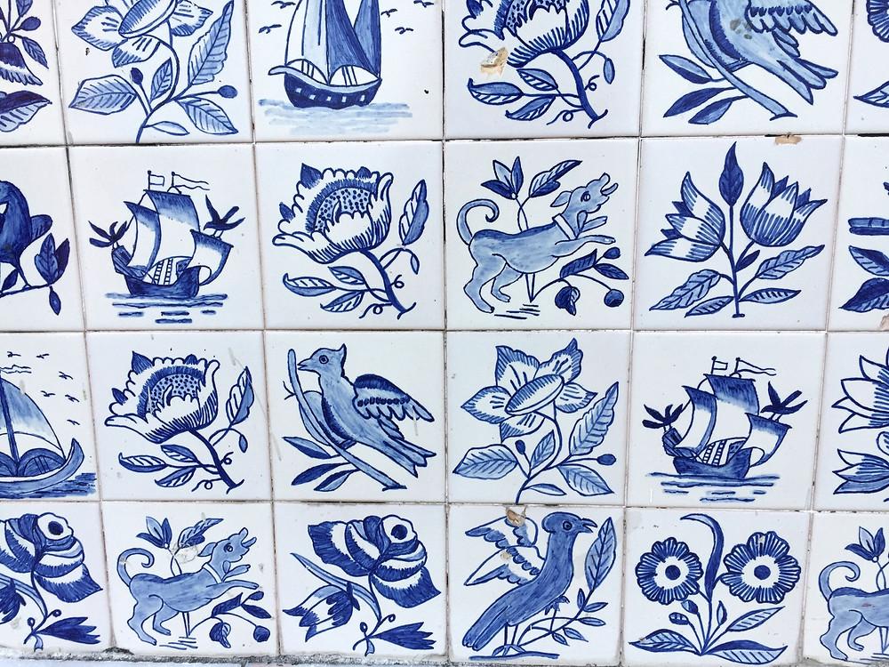 azujelos tiles lisbon portugal