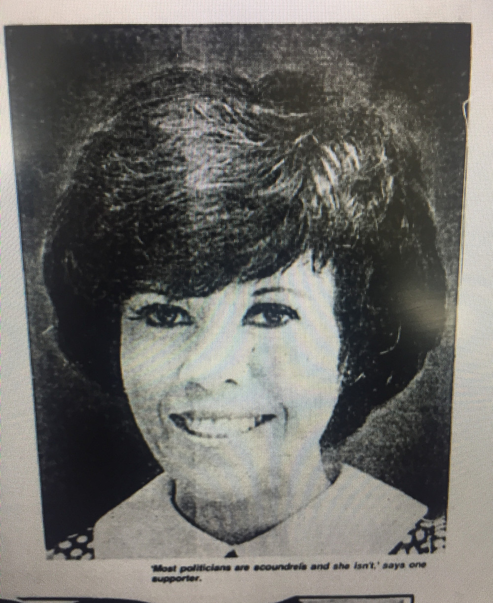 New Jersey State Senator Alene Ammond