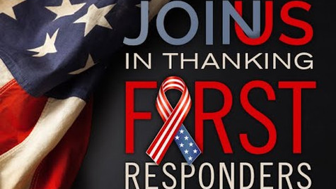A Thank You to the 911 first responders