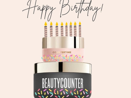 Happy Birthday Beautycounter!