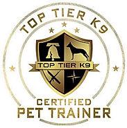 Certification from Top Tier K9