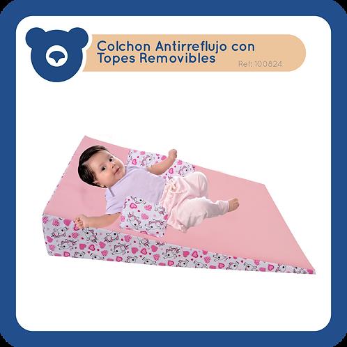 Cojín Antirreflujo con Topes Removibles