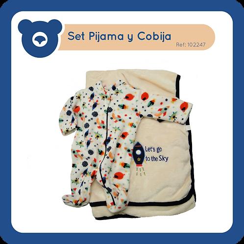 Set Pijama y Cobija