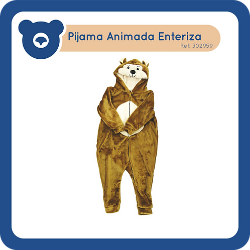 Pijama Animada Enteriza