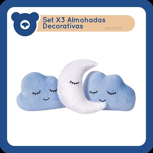 Set X3 Almohadas Decorativas