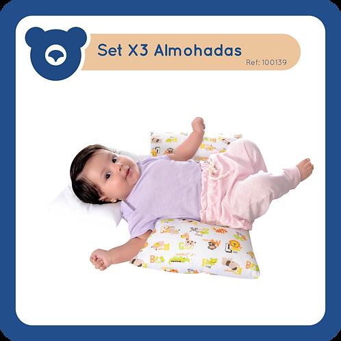 Set X3 Almohadas