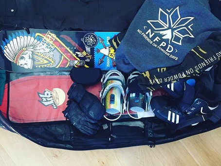 What do I pack when traveling to the snow?