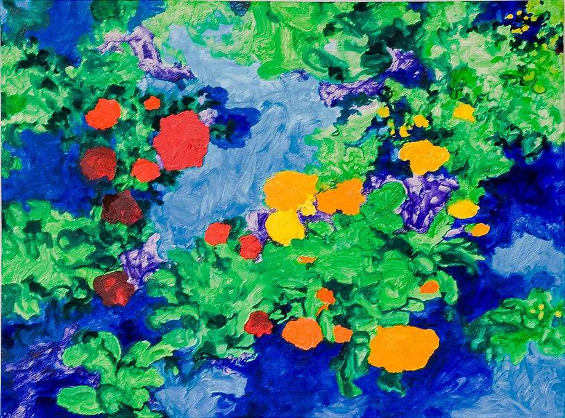 Bleu Summer 4 80 x 60 cm. € 250,--  -60%