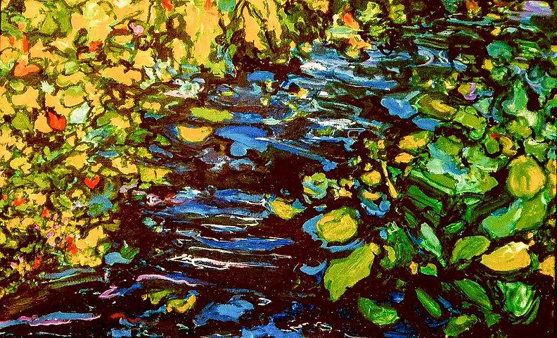 Karmozijnrode Rodenderon 110 x 110 cm Ol