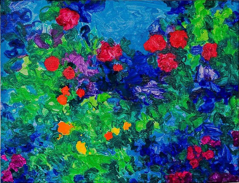 Bleu Summer 3 80 x 60 cm. € 250,-- -60%_