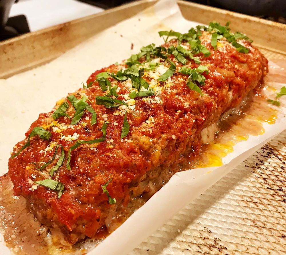italian stuffed turkey meatloaf