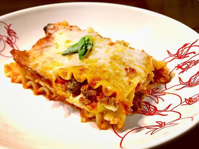 Ground Elk & Vegetable Lasagna