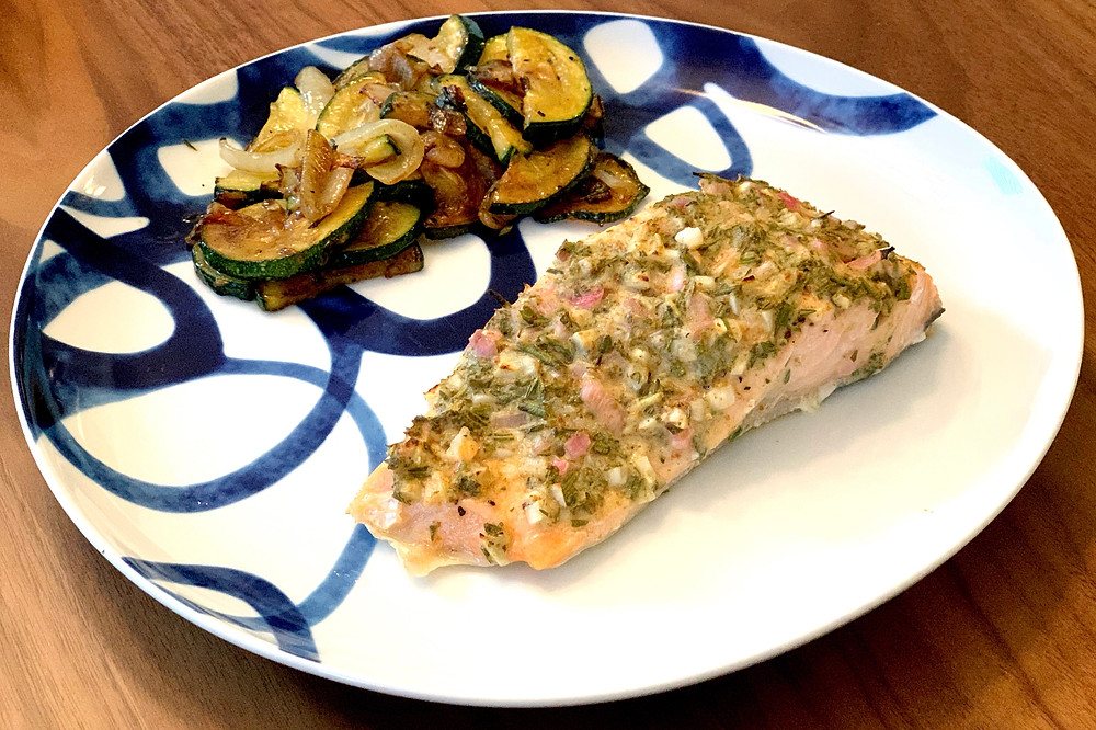 rosemary dijon salmon