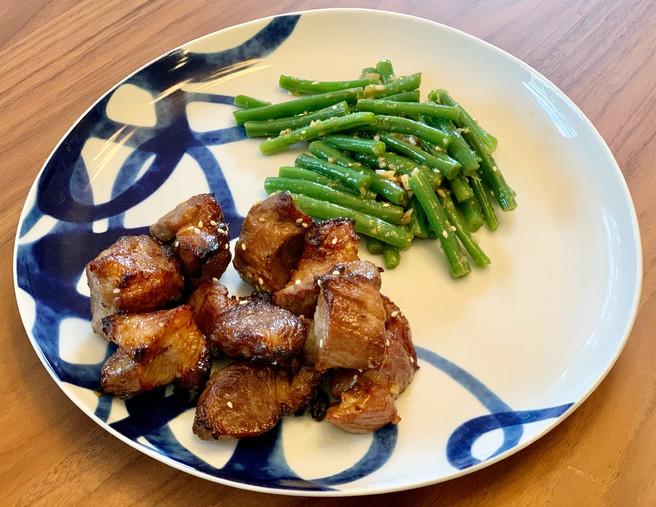 Korean Air Fryer Pork Ribs