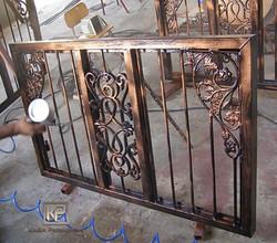 Iron Fence Window
