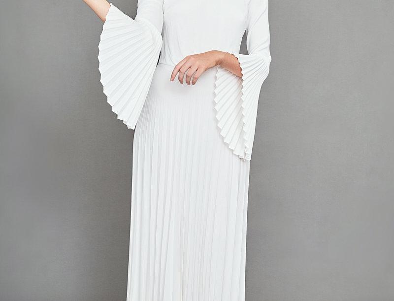 Beautiful & Rare Pleated Dress