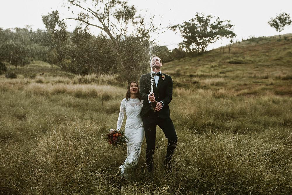 White Meadow Bride, Highlands wedding
