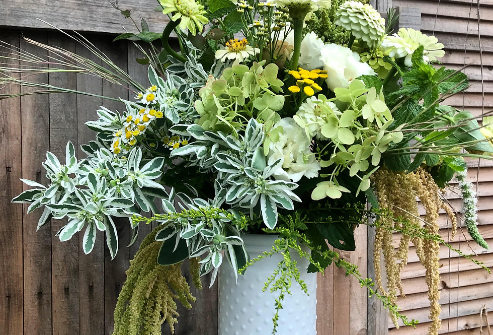 Over The Top Hobnail Vase Bouquet (26-30 stems)