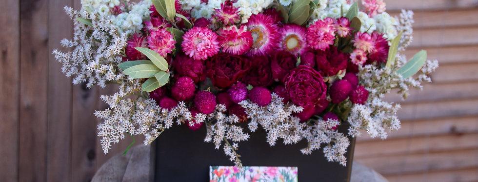 "Everlasting ""Just-Right-Plus"" Dried Floral Arrangement"