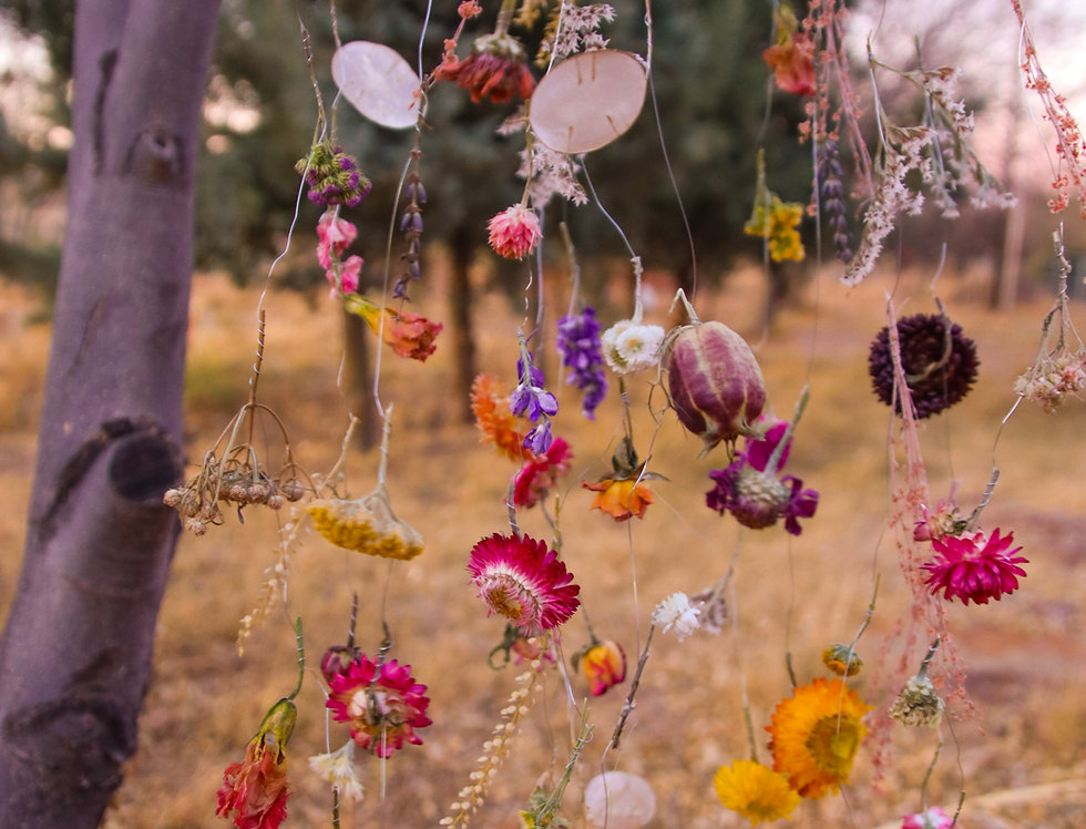 Everlasting Flower Mobile