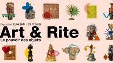Art & Rite Exposition du 23 avril au 25 juillet au Musée L