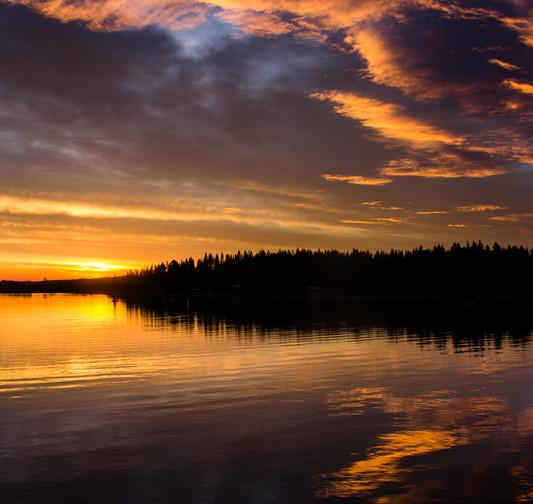 Läcker solnedgång över Maksjön sign.jpg