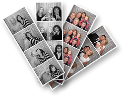 Photo Strips from our Photo Booth