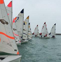 sail boat fleet