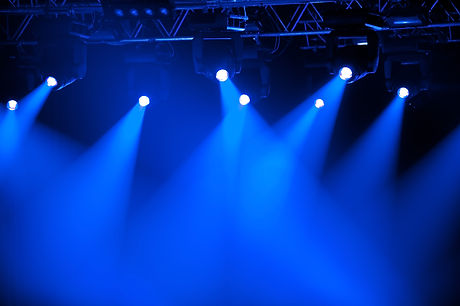 Blue stage spotlights.jpg