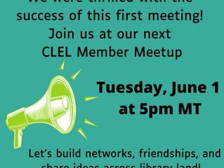 Introducing CLEL Member Meet-ups