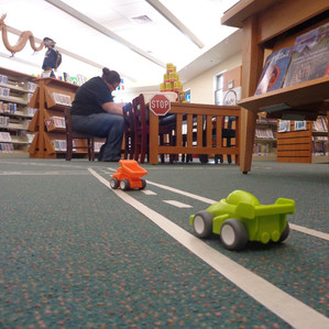Tape Town: An Early Literacy Playdate