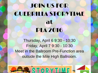 Guerrilla Storytime @ PLA