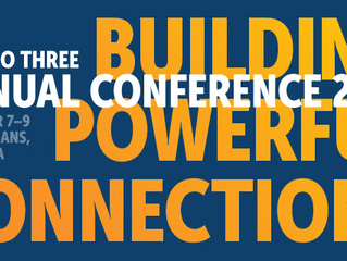 Zero to Three Annual Conference: Registration is open!
