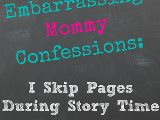 Skipping Pages in Storytime