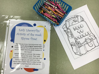 Tip of the week stations @ your library