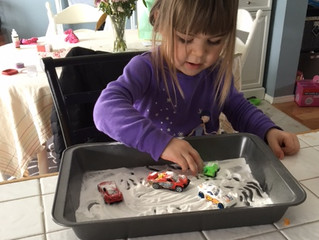 Indoor Pinterest Fun- From the trenches